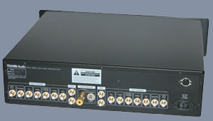 Active Linsestage Preamplifier - Back View